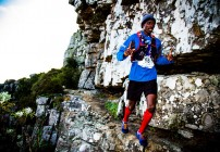 Rukadza, Greyling on top at Beast Trail Run