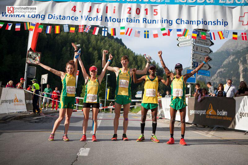 SA team - World Long Distance Trail Champs