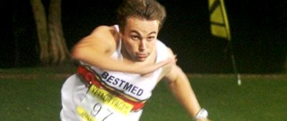 LJ van Zyl Hurdles Record