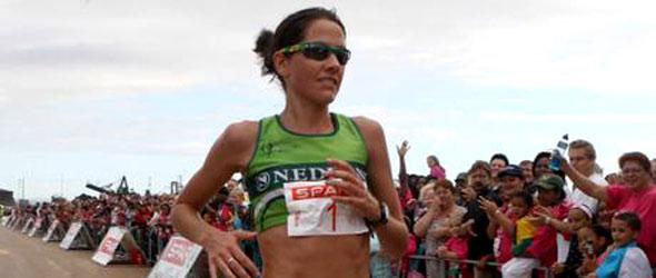 Rene Kalmer makes marathon debut