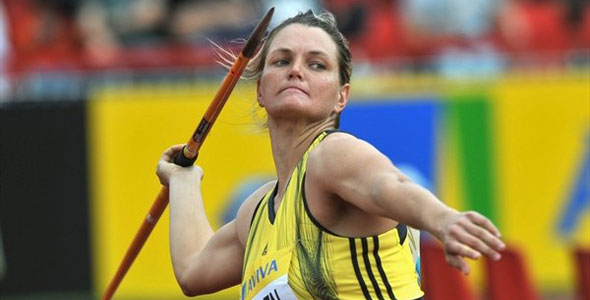 Sunette Viljoen qualifies for London 2012