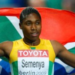 Semenya and Record holders in Bellville