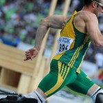 Pistorius runs Olympic Qualifying time