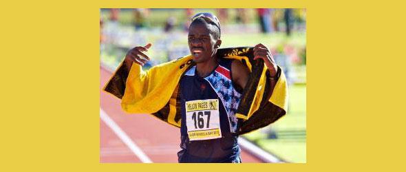 Stephen Mokoka - Olympic Qualifier