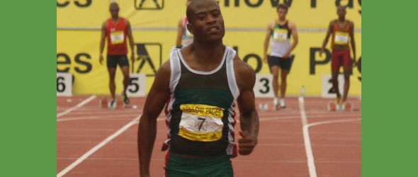 Simon Magakwe - SA's new Sprint Sensation