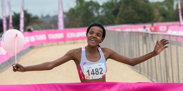 Lebohang Phalula wins Johannesburg  Ladies Race