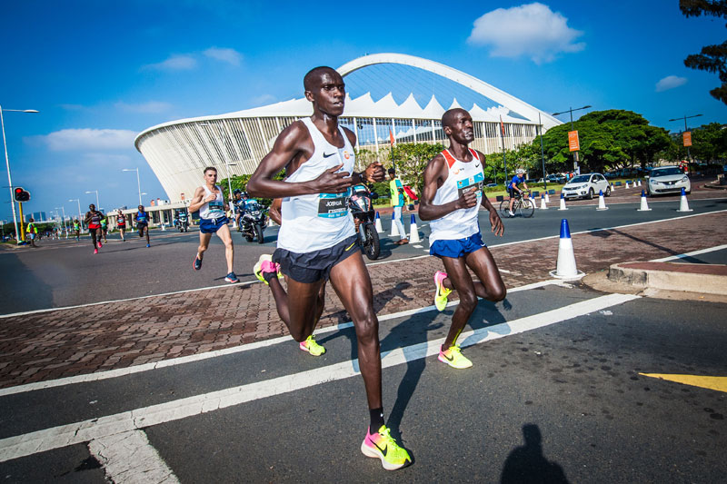 Cheptegei sets Record at Durban 10K CITYSURFRUN