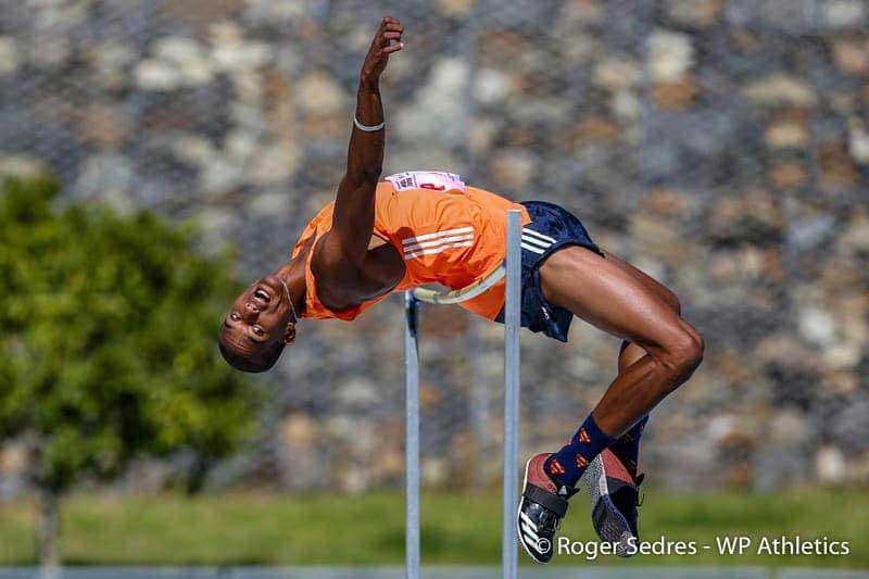 Keagan Fourie - High Jump