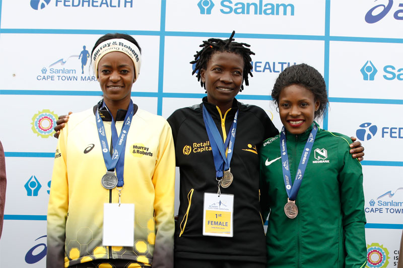 Mashele repeats, Chidzivo smashes course record