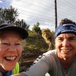 Jana with Lion