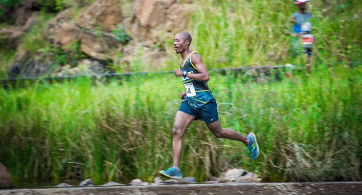 Edwin Sesipi - Buffelspoort Trail