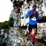 Rukadza, Greyling on top at Beast Trail Run