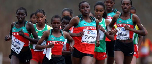 Kenyan Women Cross Country