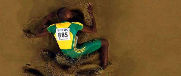 Luvo Manyonga wins Maputo Gold