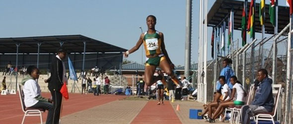 Patience Ntshingila new Triple Jump Record