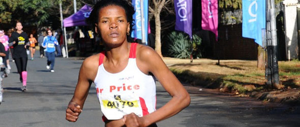 Lebo Phalula wins Johannesburg Ladies Race