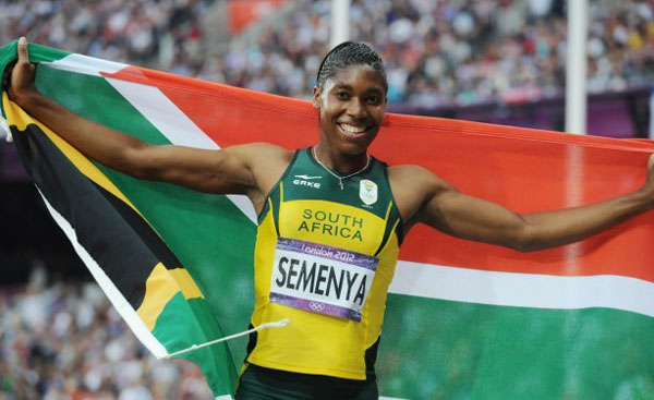Caster Semenya - London 2012