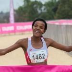 Lebohang Phalula wins Johannesburg  Ladies Race