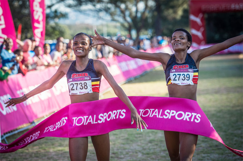 Phalula twins Totalsports Womens Winners