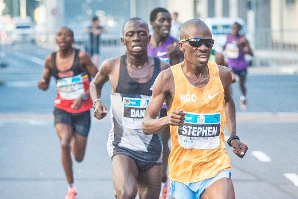 Stephen Mokoka - Durban 10k CITYRSURFRUN