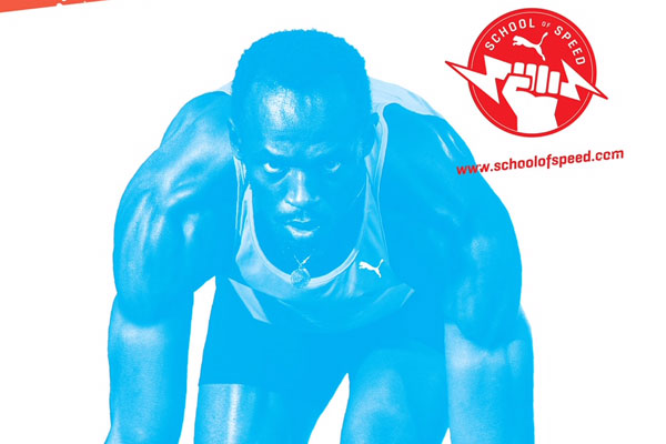 usain bolt - school of sport