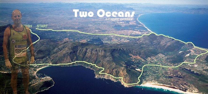 Two Oceans wedloop – n Familie avontuur