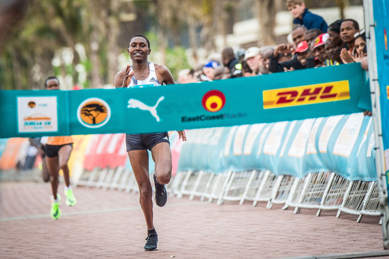 Chepkirui smashes record at  Durban 10K